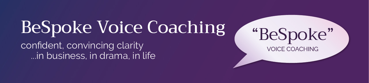 """BeSpoke"" Voice Coaching"